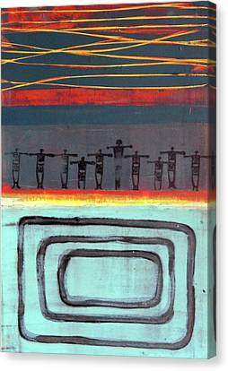 Santo Domingo Pueblo Canvas Print by Jorge Luis Bernal
