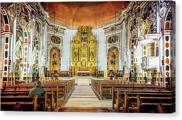 Santos Juanes Church Valencia Spain Canvas Print