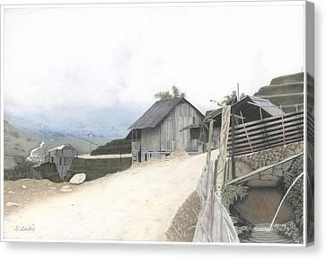 Sapa North Vietnam Canvas Print by Wilfrid Barbier