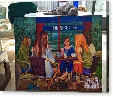 Saphira And The Nice Life Canvas Print