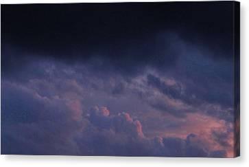 Sapphire Storm Canvas Print by Joshua Bales