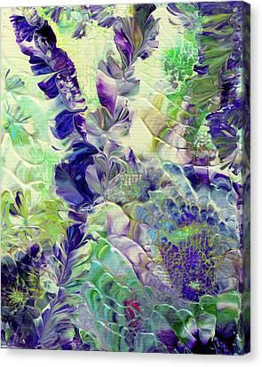 Sapphire Violet Canvas Print