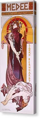 Sarah Bernhardt Canvas Print by Granger