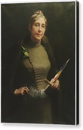 Sarah Wyman Whitman Canvas Print by Helen Bigelow