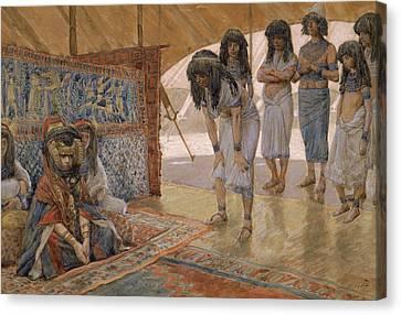 Sarai Is Taken To Pharaoh's Palace Canvas Print