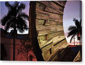 Sarasota Nights Canvas Print by John Knapko