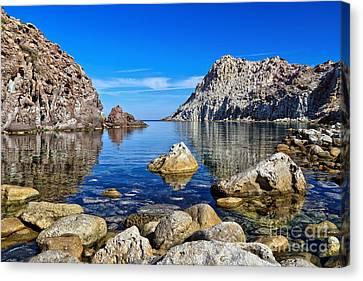 Sardinia - Calafico Bay  Canvas Print by Antonio Scarpi