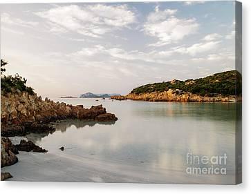Canvas Print featuring the photograph Sardinian Coast I by Yuri Santin