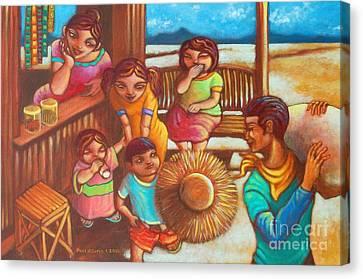 Sari Canvas Print - Sari-saring Saya At Alaala by Paul Hilario