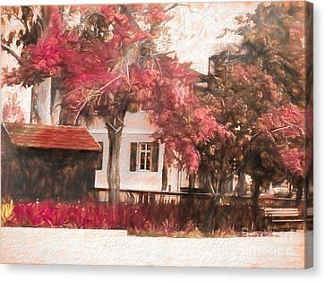 Sarona Center 002 Canvas Print