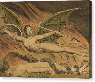 Satan Exulting Over Eve, 1795  Canvas Print
