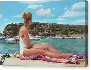 Saturday At The Lake Canvas Print