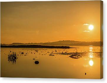 Saturday Morning Along The Estuary  Canvas Print