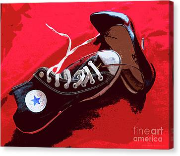 Living In Converse Saturday Night. Canvas Print