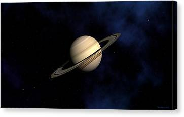 Saturn Canvas Print by David Robinson