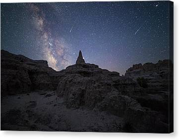 Saturn Point Canvas Print by Aaron J Groen