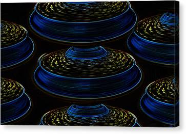 Saucers Canvas Print by David Lee Thompson