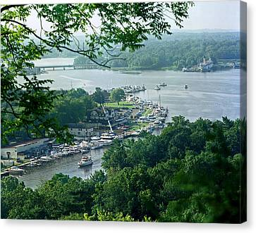 Saugatuck Harbor Canvas Print