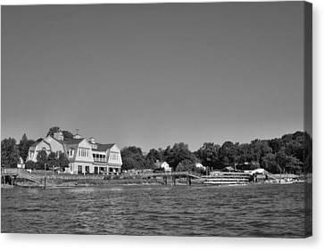 Saugatuck Rowing Club Westport Ct Canvas Print