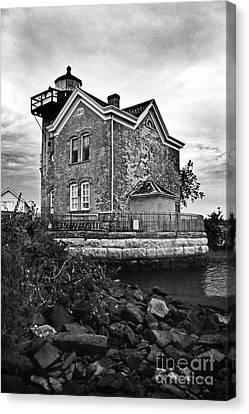 Saugerties Lighthouse Ny Canvas Print by Skip Willits