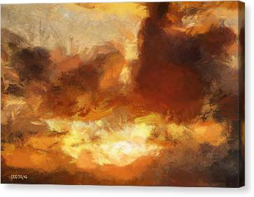 Saulriets Canvas Print by Greg Collins