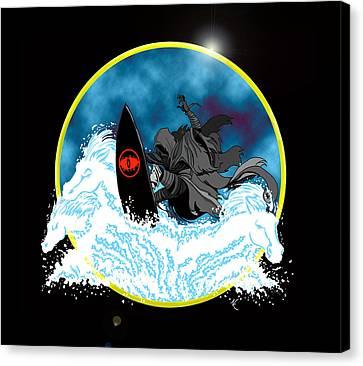 Sauron Jon Canvas Print