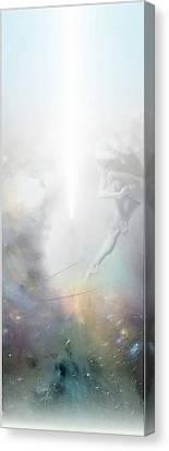 Saut Dans L'inconnue Canvas Print