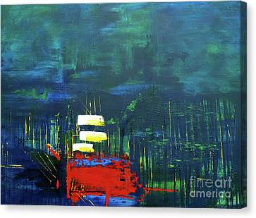 Savage Forest From The Light Series Canvas Print by Nickola McCoy-Snell