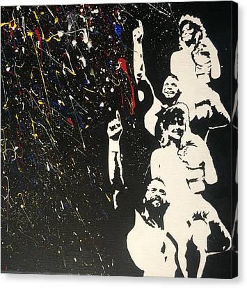 Randy Savage Canvas Print - Savage Love by Ricardo Freitas