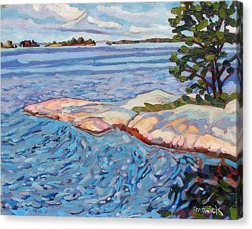 Savage Sunrise Canvas Print