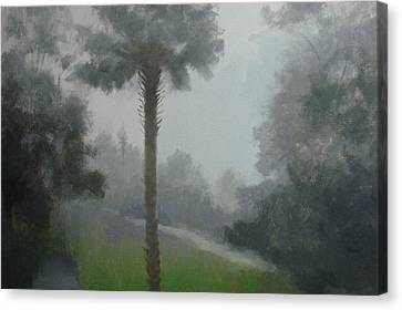 Savanna Fog Canvas Print by Robert Rohrich