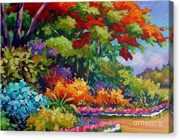 Savannah Garden Canvas Print