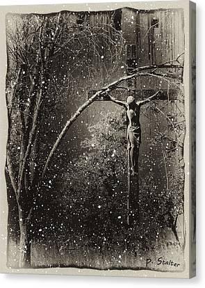 Savior Canvas Print by Patricia Stalter