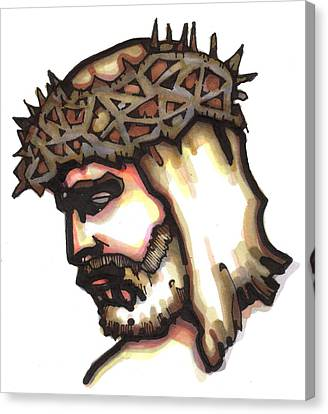 Saviour No 6 Canvas Print by Edward Ruth