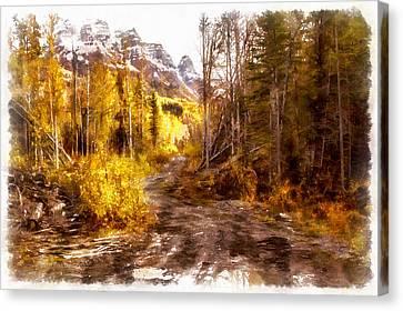 Sawmill Road Canvas Print