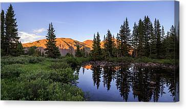 Sawatch Sunset Canvas Print