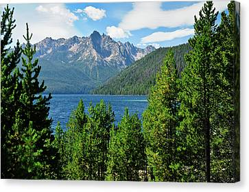 Sawtooth Serenity II Canvas Print by Greg Norrell