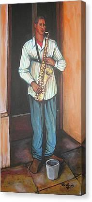 Saxophone 1 Canvas Print
