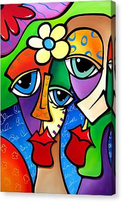 Say Anything By Fidostudio Canvas Print by Tom Fedro - Fidostudio
