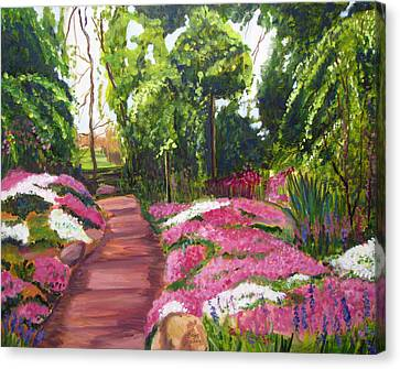 Sayen Path Canvas Print