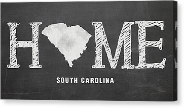 Sc Home Canvas Print by Nancy Ingersoll