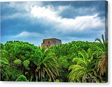 Scalea Tower Canvas Print