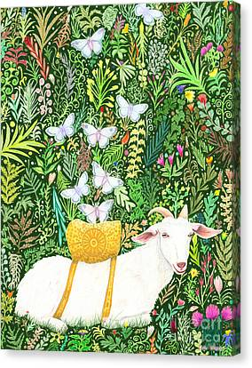 Scapegoat Healing Canvas Print by Lise Winne
