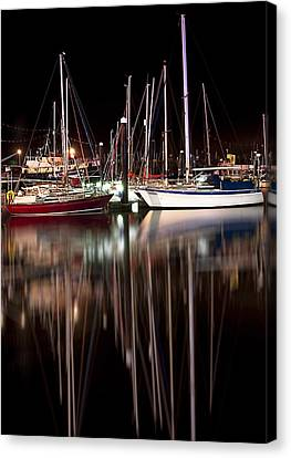 Scarborough Boats Canvas Print by Svetlana Sewell