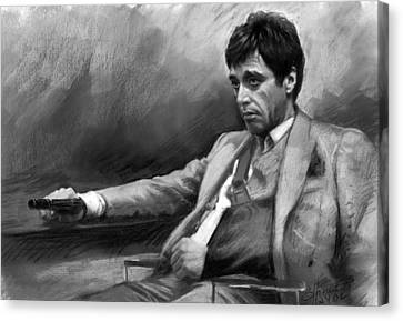 Scarface 2 Canvas Print by Ylli Haruni