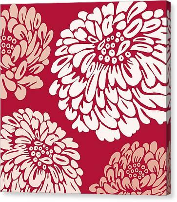 Garden Canvas Print - Scarlett O'hara by Sarah Hough