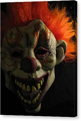 Scary Canvas Print by Kim Pascu