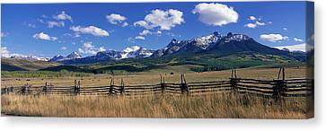 Scene Along Last Doller Road North Canvas Print by Panoramic Images