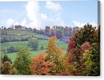Scenic Amish Landscape 5 Canvas Print by SharaLee Art
