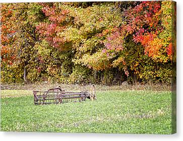 Scenic Amish Landscape 7 Canvas Print by SharaLee Art